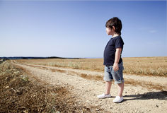 Portrait d'un enfant photos libres de droits