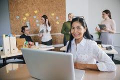 Portrait d'un entrepreneur féminin Photos stock