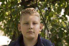 Portrait d'un garçon Images stock