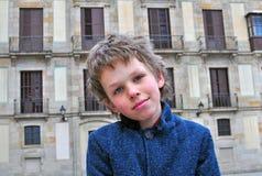 Portrait d'un garçon Photographie stock