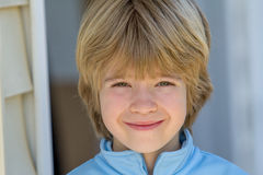 Portrait d'un garçon Photos stock