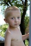 Portrait d'un garçon nu Photos stock