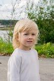 Portrait d'un garçon slave blond Image libre de droits