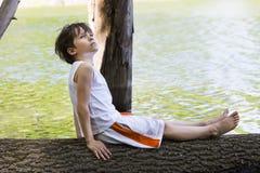 Portrait d'un garçon Photo stock