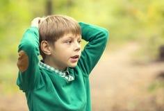 Portrait d'un garçon Photographie stock libre de droits