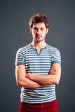 Portrait d'un homme Photos libres de droits