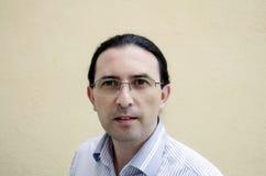 Portrait d'un homme caucasien sûr Photos libres de droits