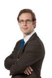 Portrait d'un homme d'affaires Photographie stock libre de droits