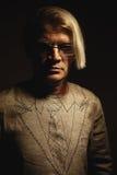 Portrait d'un homme dans le costume quasi photo libre de droits
