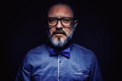 Portrait d'un homme de barbe photos libres de droits