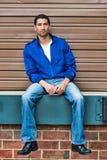 Portrait d'un homme de minorité Photos stock