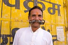 Portrait d'un homme indien supérieur Photos libres de droits
