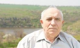 Portrait d'un homme supérieur Images stock