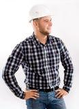 Portrait d'un ingénieur bel image libre de droits