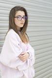 Portrait d'un jeune adolescent de 15 ans Photographie stock libre de droits