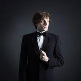 Portrait d'un jeune art masculin photographie stock libre de droits