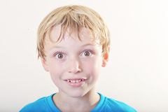 Portrait d'un jeune garçon Image libre de droits