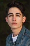 Portrait d'un jeune homme Image libre de droits