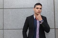 Portrait d'un jeune homme Image stock