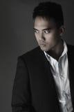 Portrait d'un Philippin beau photos libres de droits