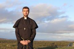 Portrait d'un prêtre chrétien photos libres de droits