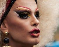 Portrait d'un transsexuel Images libres de droits
