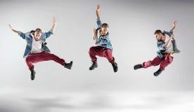 Portrait d'un type multiple de danse photo libre de droits