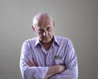 Portrait d'un vieil homme images libres de droits
