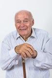 Portrait d'un vieil homme Photographie stock