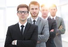 Portrait d'une équipe professionnelle d'affaires Photographie stock libre de droits