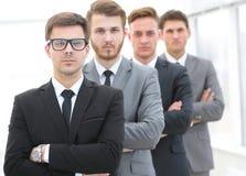 Portrait d'une équipe professionnelle d'affaires Images libres de droits