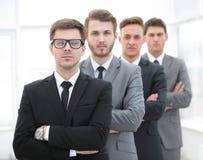 Portrait d'une équipe professionnelle d'affaires Image libre de droits