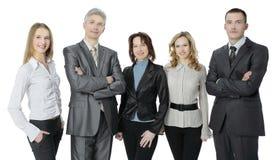 Portrait d'une équipe professionnelle réussie d'affaires Photos stock
