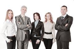 Portrait d'une équipe professionnelle réussie d'affaires Image libre de droits