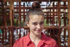 Portrait d'une adolescente photo libre de droits