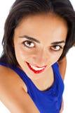 Portrait d'une belle femme de brune photo libre de droits