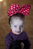 Portrait d'une belle fille Photos libres de droits