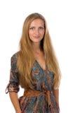 Portrait d'une belle fille de 30 ans Image stock