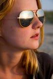 Portrait d'une belle jeune fille Photographie stock