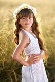 Portrait d'une belle petite fille Images stock