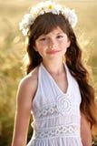Portrait d'une belle petite fille Images libres de droits