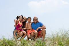 Portrait d'une famille image libre de droits