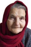Portrait d'une femme âgée photo libre de droits