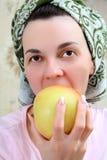 Portrait d'une femme photos stock