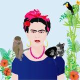 Portrait d'une femme Image stock