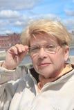Portrait d'une femme Photos libres de droits