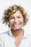 Portrait d'une femme adulte mûre Image libre de droits