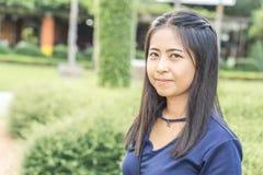 Portrait d'une femme asiatique photographie stock libre de droits