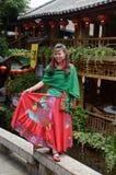 Portrait d'une femme chinoise Photo libre de droits