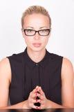 Portrait d'une femme d'affaires photographie stock libre de droits
